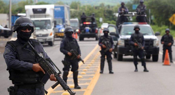 Policías patrullan las carreteras mexicanas