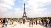 Turistas en Paris