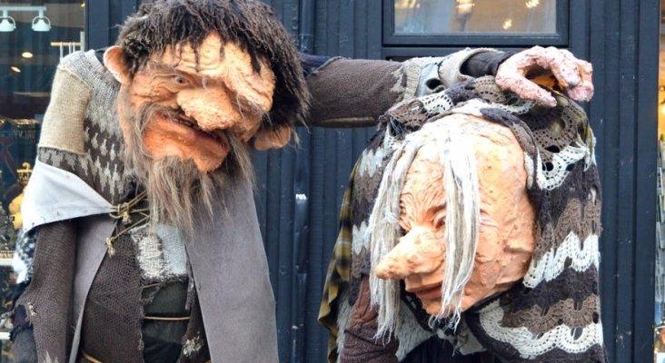 Grýla y Leppalúdi, los padres de los trece trolls navideños