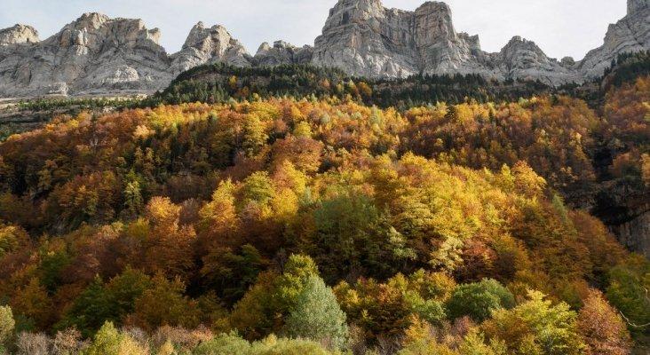 Parque Nacional de Ordesa y Monte Perdido en Aragón