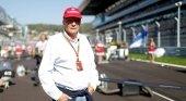 El ex piloto de Fórmula 1, Niki Lauda