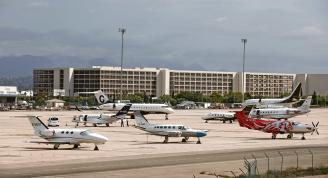 Jets privados en el aeropuerto de Palma