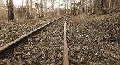 Vías antiguas de tren