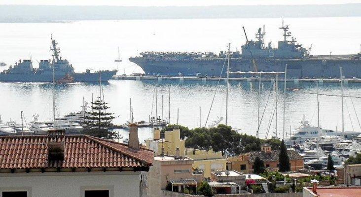 La sexta flota de estados unidos visita mallorca for Oficina de turismo de estados unidos en madrid