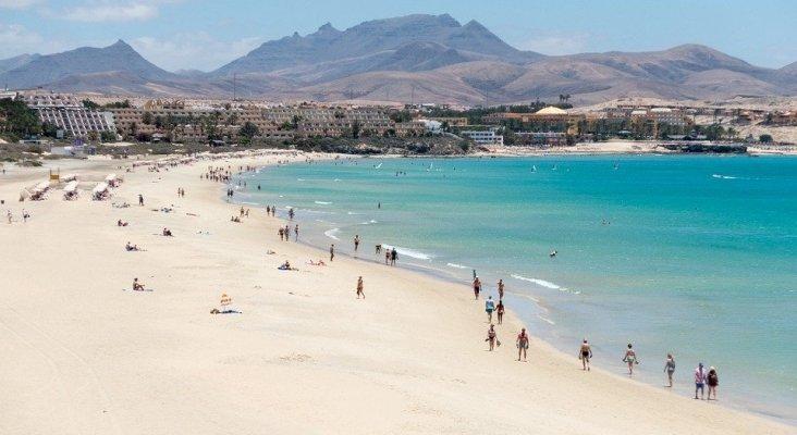 Playa en Fuerteventura