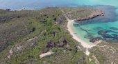 Colom el mayor islote de Menorca