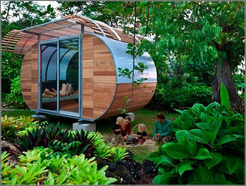 Hotel ecológico. Imagen de Aktua.net