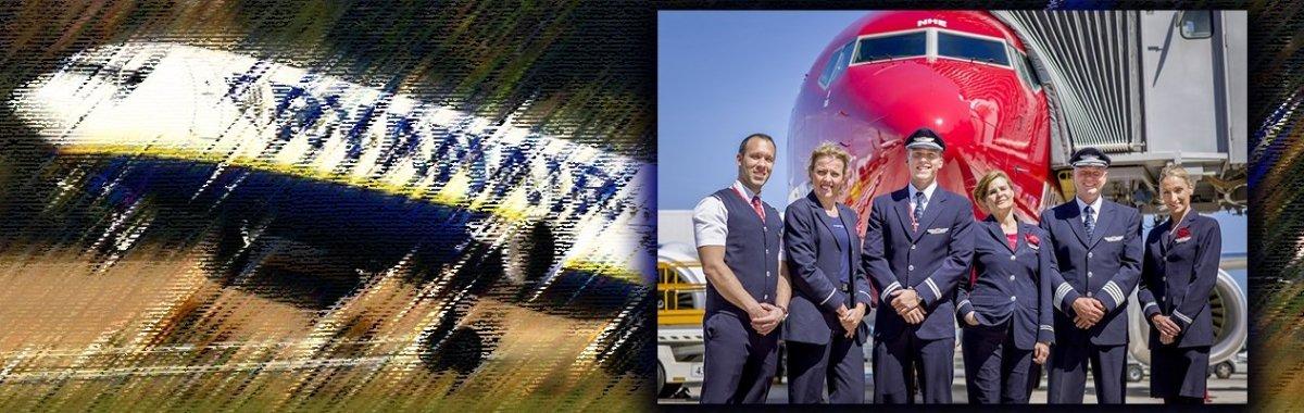 Ryanair y Norwgeian