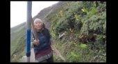 Nepalí vs turista britanica