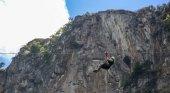 Tirolina de Camaleño. Foto tomada de El Diario Montañés