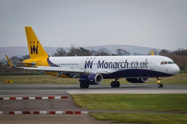 Monarch podría dejar 'en el limbo' a 100.000 turistas británicos