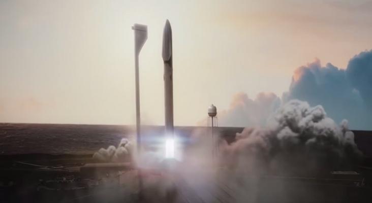 Cohete de Elon Musk